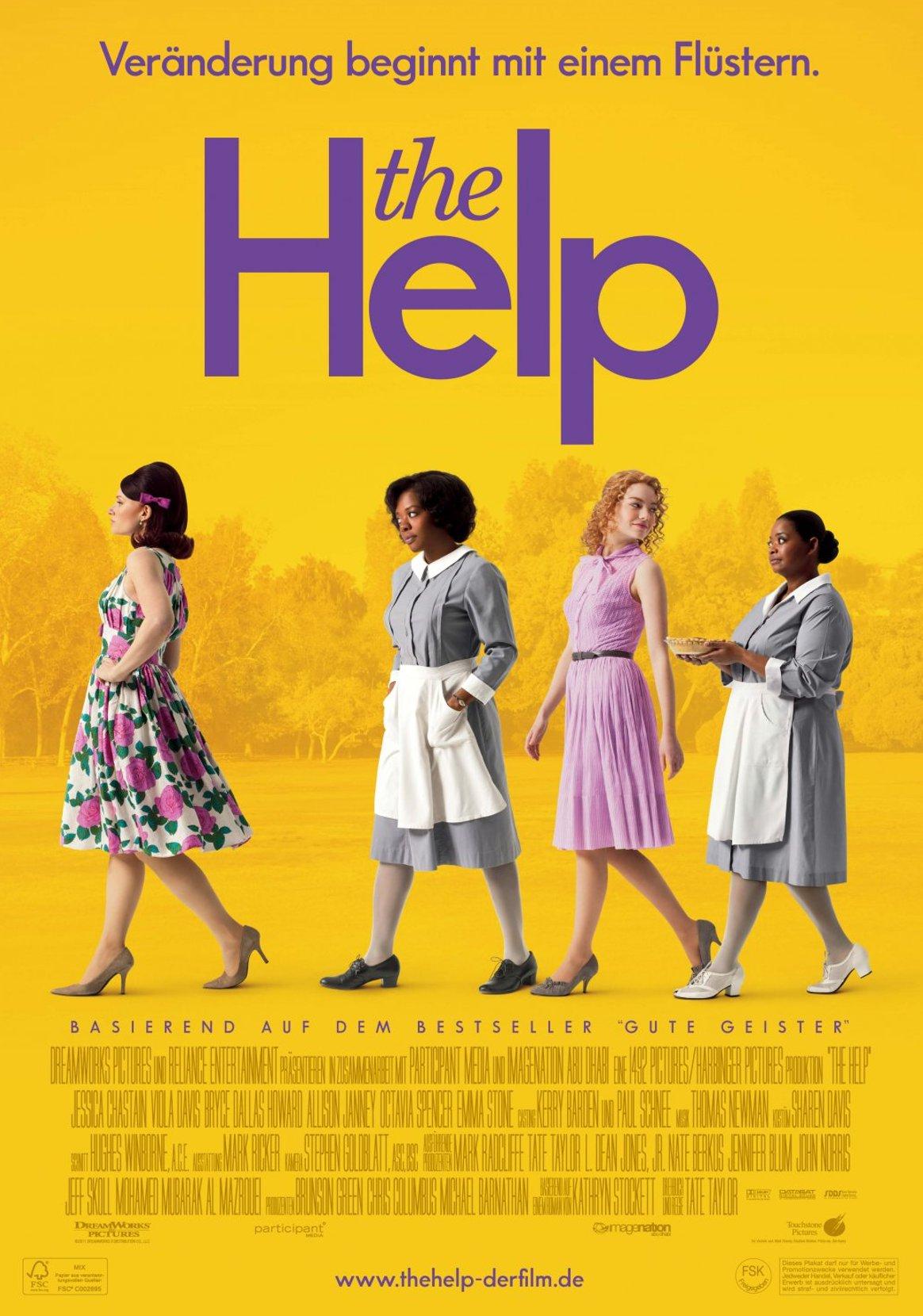 THE HELP Movie Images Emma Stone Viola Davis   Collider KI Group