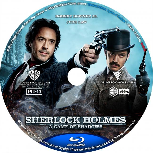 Amazon.com: Sherlock Holmes: A Game of Shadows (Blu-ray ...